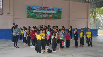พานักเรียน ชั้น ป.3-ป.6 ทัศนศึกษาที่ The Blooms Orchid Park