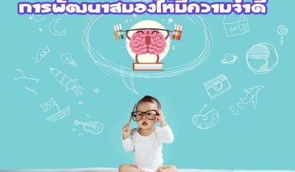 การพัฒนาสมองให้มีความจำดี